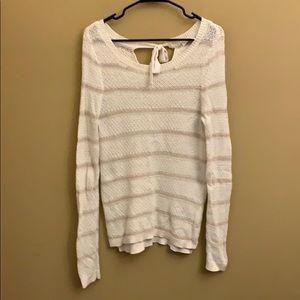Lauren Conrad striped sweater